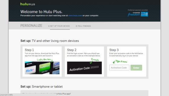 Hulu signup complete outside of the USA with Getflix